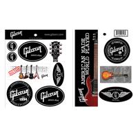 Gibson S & A GIBSON GEAR Gibson Logo Stickers