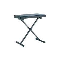 König & Meyer 14065 KEYBOARD BENCH black leather