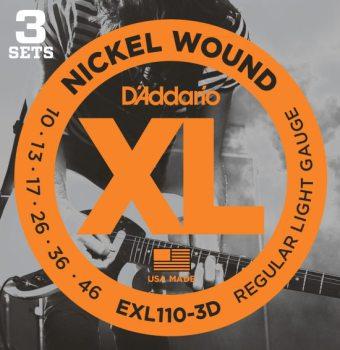 DAddario EXL110-3D