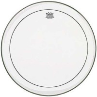 "Remo PS-1326-00 | PINSTRIPE BT 26"" CLEAR"