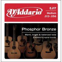 D'Addario - Phosphor Bronze Western EJ17 Medium 013-056
