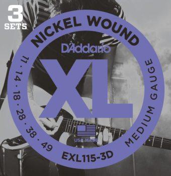 DAddario EXL115-3D