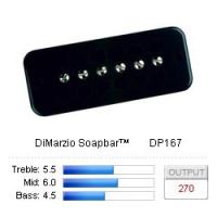 DiMarzio Soapbar™ DP167BK