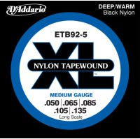 D'Addario Nylon Tapewound ETB92-5 Medium