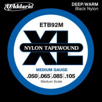 D'Addario Nylon Tapewound ETB92M Medium