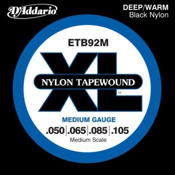 D'Addario Nylon Tapewound ETB92M Medium
