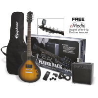 Epiphone Les Paul Player Pack - Vintage Sunburst