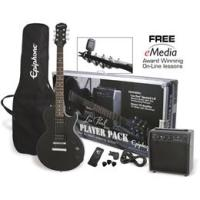 Epiphone LES PAUL PLAYER PACK | EBONY