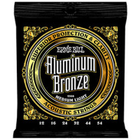 Ernie Ball Aluminium Bronze Medium Light 2566