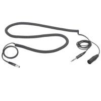AKG MKHS Studio D, headsetkabel XLR + 1/4-tele