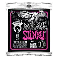 Ernie Ball - Coated Electric Titanium RPS Super Slinky 009-042 EB-3123