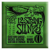 Ernie Ball - 12-strängad Slinky Electric Nickel Wound 008 - 040 EB-2230