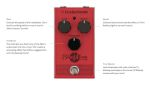 Blood Moon Phaser Guitar Pedal
