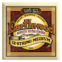 Ernie Ball - 12-strängad Earthwood 80/20 Brons Medium 011-052 EB-2012