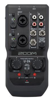 Zoom U-24 Ljudkort