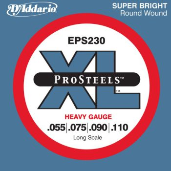 D'Addario - ProSteels Round Wound EPS230 Heavy 055-110