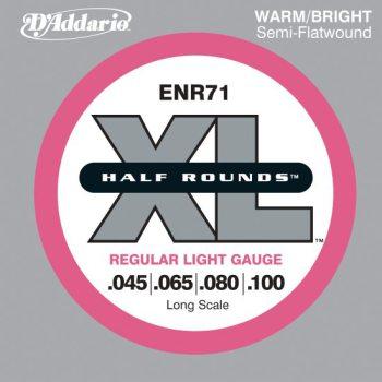 D'Addario - Nickel Half Rounds ENR71 Regular Light 045-100