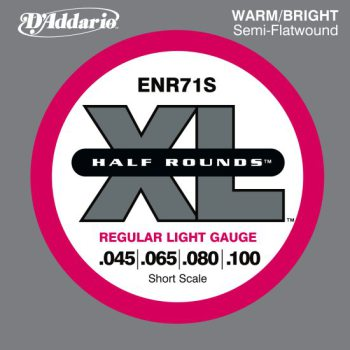 D'Addario - Nickel Half Rounds ENR71S Regular Light 045-100