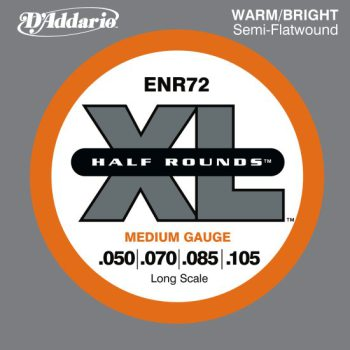 D'Addario - Nickel Half Rounds ENR72 Medium 050-105