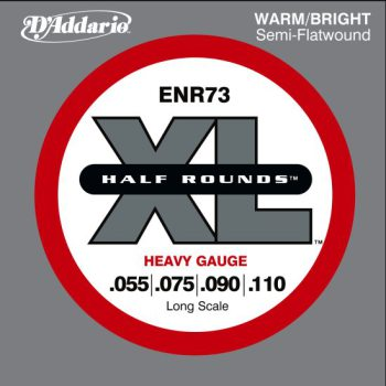 D'Addario - Nickel Half Rounds ENR73 Heavy 055-110