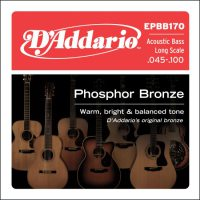 D'Addario - Phosphor Bronze Akustisk bas EPBB170 045-100