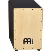 Meinl Black Cajon Maple med Bag - MCAJ100BK-MA