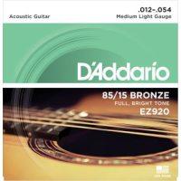 D'Addario - American Bronze EZ920 Medium Light 012-054