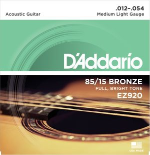 D'Addario - American Bronze EZ920 Medium Light 012-054