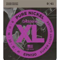 D'Addario - Pure Nickel EPN120 Super Light 009-041