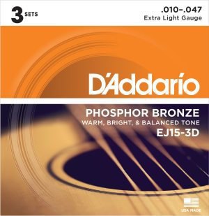 DAddario EJ15-3D