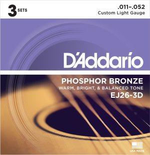 DAddario EJ26-3D
