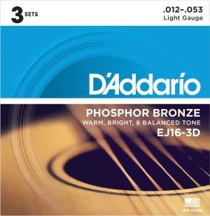 DAddario EJ16-3D