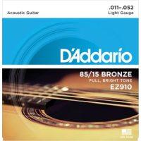 D'Addario - American Bronze  EZ910 Light 011-052