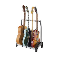 K&M 17534 Guardian Guitar Stand 3+1