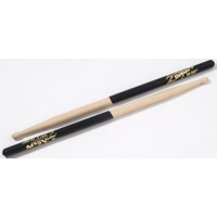 Zildjian 5A Black Dip Hickory Drumsticks Wood Tip