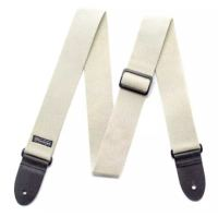Dunlop Cotton Strap D21-02N Natural Axelband