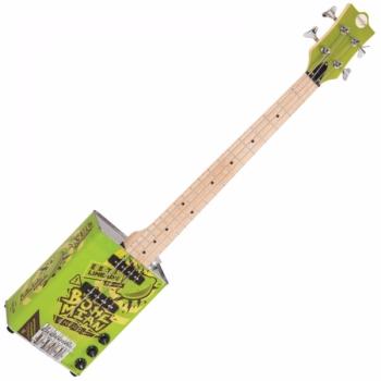 Bohemian Oil Can Bass Guitar – Hot Sauce