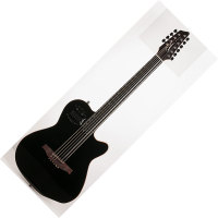 GODIN A10 Black Steel HG with Bag