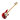 Sandberg Cal TT4 Metallic Red High Gloss Maple FB White block inlay Mint PG