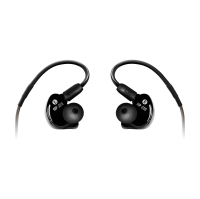 Mackie MP-220 In-Ear Monitors, black