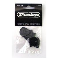 Dunlop Plektrum Jazz III 47P3S - 6/PLYPK