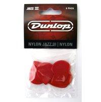 Dunlop Plektrum Jazz III 47P3N - 6/PLYPK