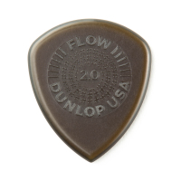 Dunlop Plektrum Flow Standard Grip 2,0 549P200 - 6/PLYPK