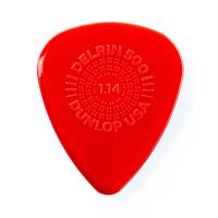 Dunlop Plektrum Delrin 500 Prime Grip 1,14 450P114 - 12/PLYPK