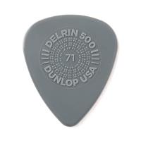 Dunlop Plektrum Delrin 500 Prime Grip 0,71 450P071 - 12/PLYPK