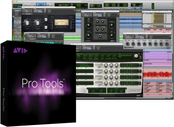 AVID Pro Tools (Boxed) 1-year software download with updates + support