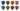 Dunlop Plektrum Flow Variety Pack PVP114 - 8/PLYPK