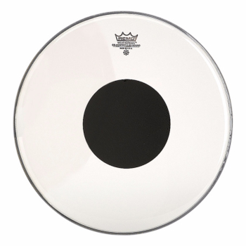 Remo Controlled Sound Clear Black Dot On Top 18