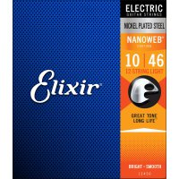 Elixir 12450 Electric 12-String Nickel Plated Steel Nanoweb 010-046