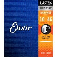 Elixir 12450 Electric 12-String Nickel Plated Steel Nanoweb 010-046